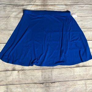 Women's Cynthia Rowley Blue Skater Skirt NWT